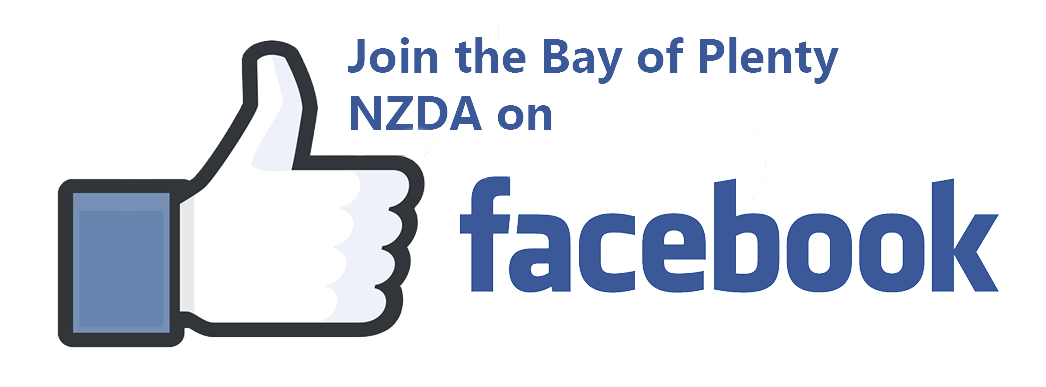 Join the Bay of Plenty NZDA on Facebook